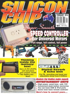 February 2014 - Silicon Chip Online