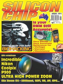 August 2015 - Silicon Chip Online