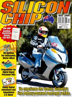 May 2008 - Silicon Chip Online