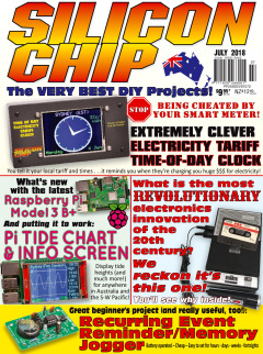 July 2018 - Silicon Chip Online